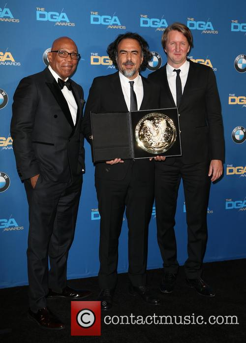 Paris Barclay, Alejandro G. Iñárritu and Tom Hooper 3