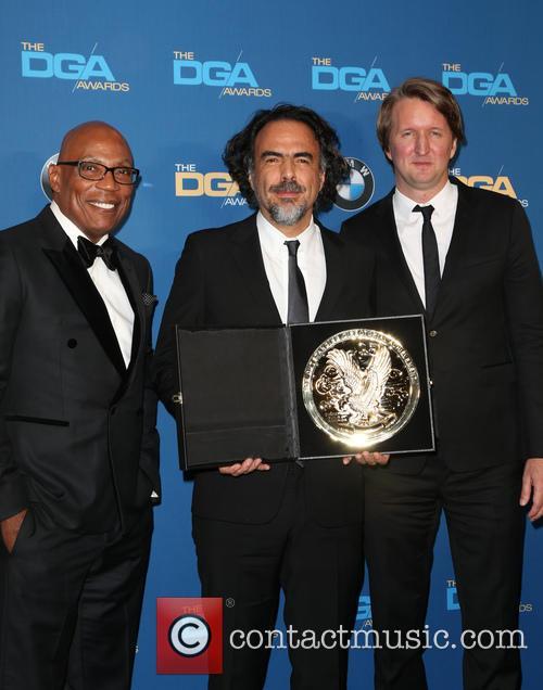 Paris Barclay, Alejandro G. Iñárritu and Tom Hooper 4
