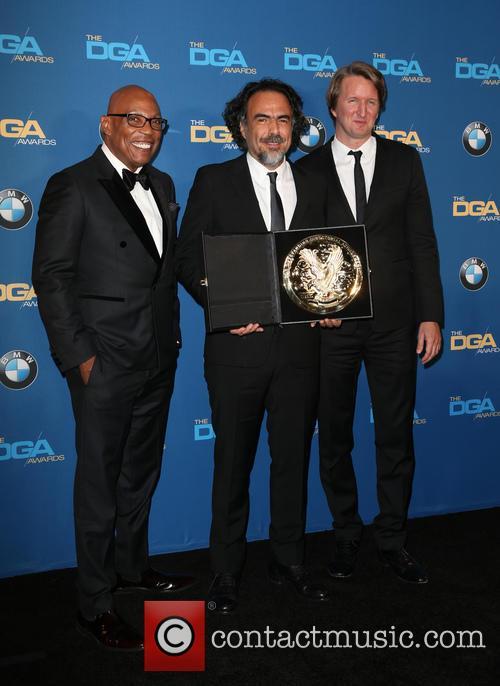 Paris Barclay, Alejandro G. Iñárritu and Tom Hooper 5