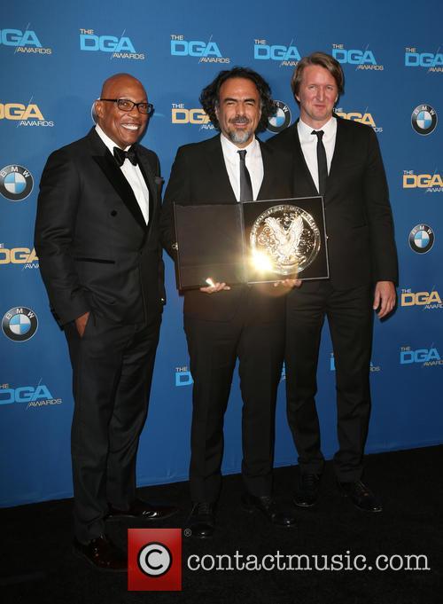 Paris Barclay, Alejandro G. Iñárritu and Tom Hooper 6