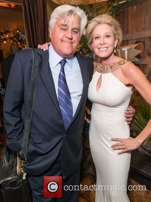 Jay Leno and Jillian Manus 1