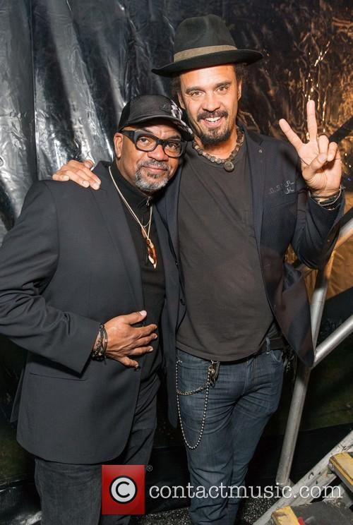 Carl Young and Michael Franti 1