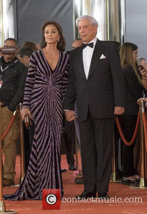 Mario Vargas Llosa and Isabel Preysler 2