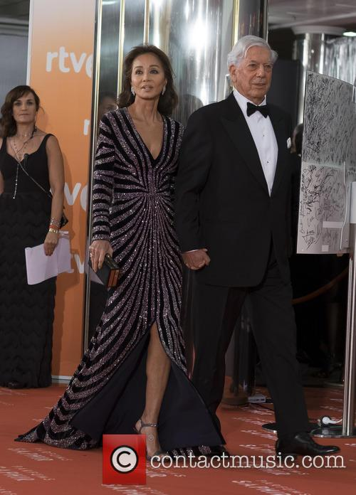 Mario Vargas Llosa and Isabel Preysler 3