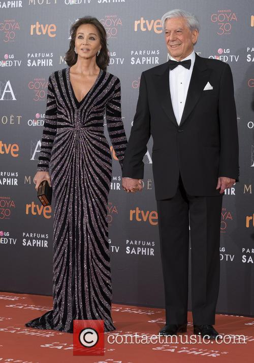 Mario Vargas Llosa and Isabel Preysler 4