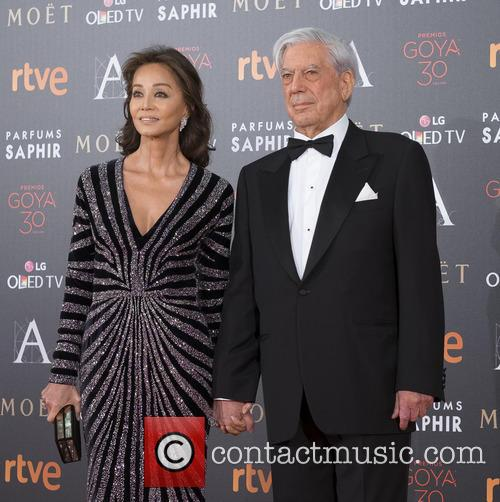 Mario Vargas Llosa and Isabel Preysler 5