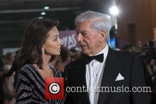 Mario Vargas Llosa and Isabel Preysler 8