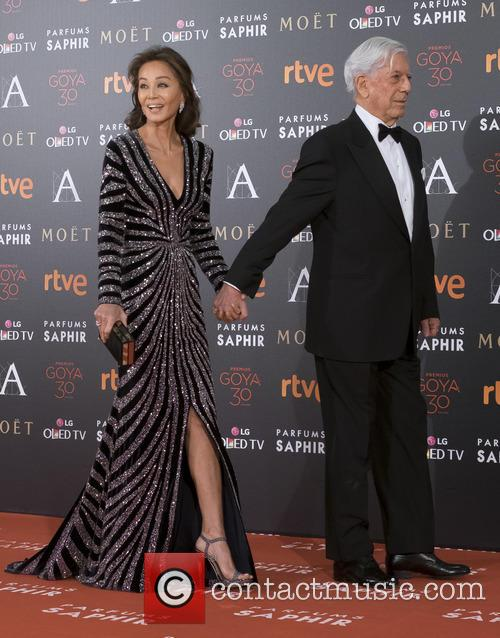 Mario Vargas Llosa and Isabel Preysler 10
