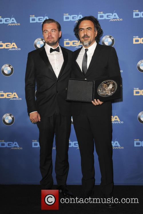 Leonardo Dicaprio and Alejandro G. Inarritu 2