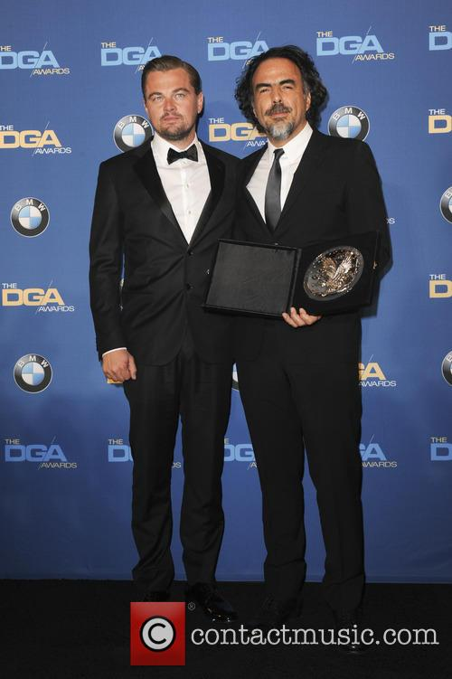 Leonardo Dicaprio and Alejandro G. Inarritu 3