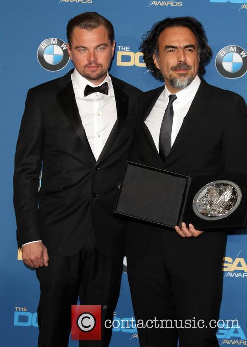 Leonardo Dicaprio and Director Alejandro González Iñárritu 1