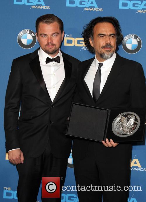 Leonardo Dicaprio and Director Alejandro González Iñárritu 2