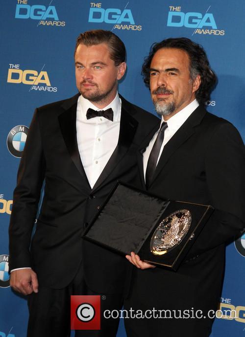 Leonardo Dicaprio and Director Alejandro González Iñárritu 3