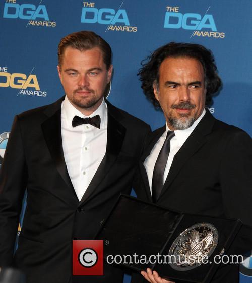 Leonardo Dicaprio and Director Alejandro González Iñárritu 5