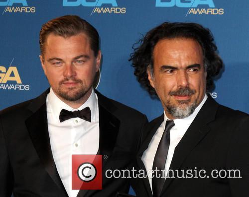 Leonardo Dicaprio and Director Alejandro González Iñárritu 6