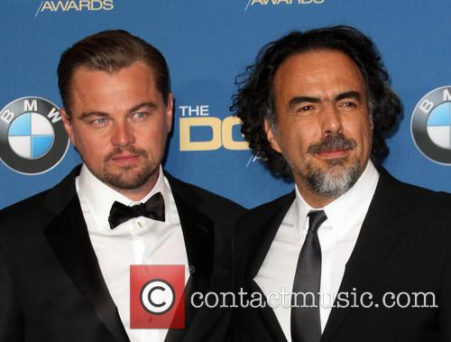 Leonardo Dicaprio and Director Alejandro González Iñárritu 7