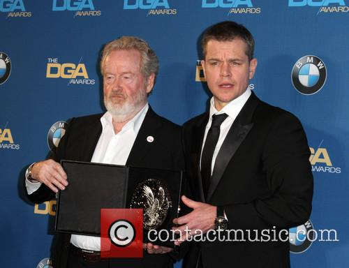 Director Ridley Scott and Matt Damon 2