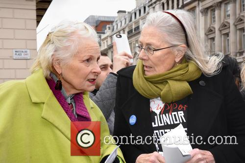 Dame Vivienne Westwood and Vanessa Redgrave 4