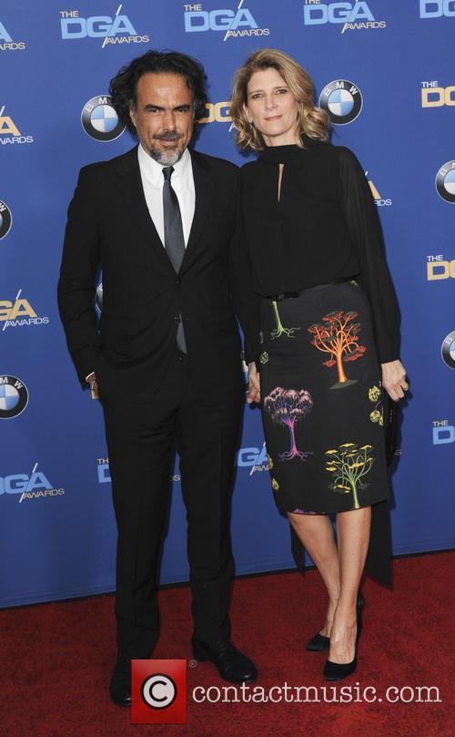 Alejandro G. Inarritu and Maria Eladia 4