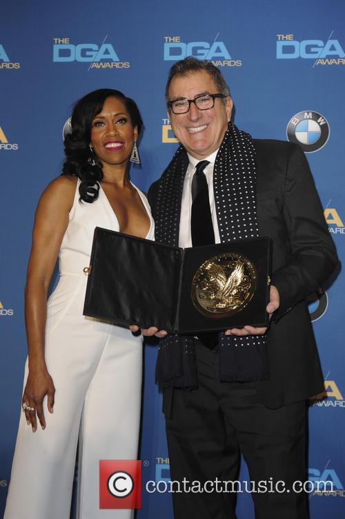 Regina King and Jon Favreau 2