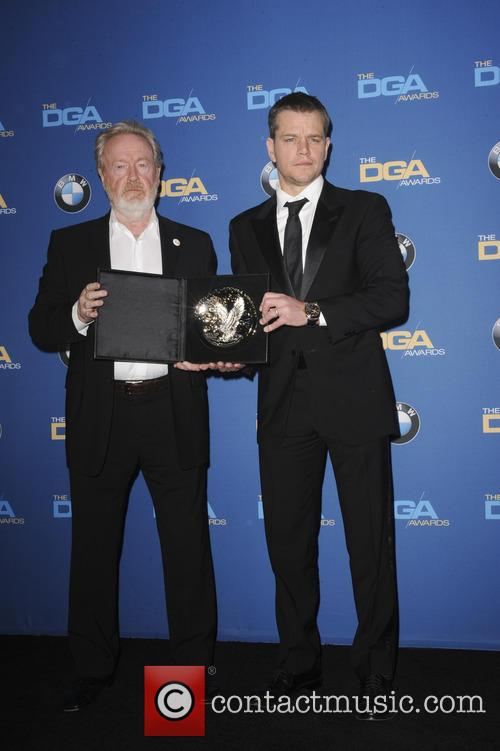 Ridley Scott and Matt Demon