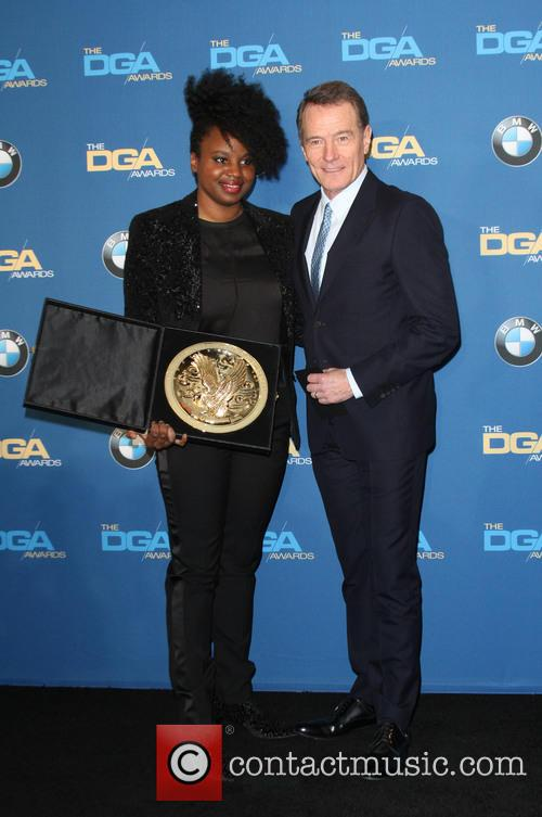 Director Dee Rees and Bryan Cranston 5