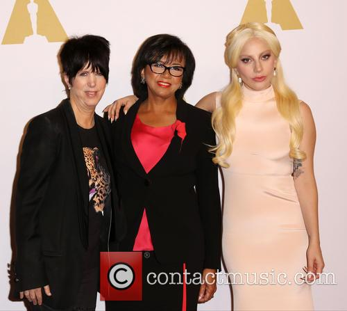 Diane Warren, Cheryl Boone Isaacs and Lady Gaga 1