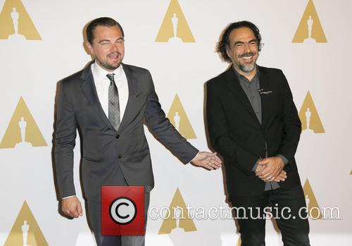 Leonardo Dicaprio and Alejandro Gonzalez Inarrituo 5