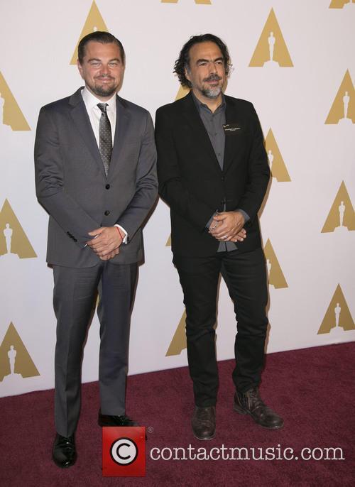 Leonardo Dicaprio and Alejandro Gonzalez Inarritu 6