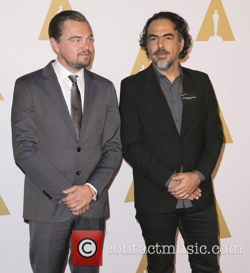 Leonardo Dicaprio and Alejandro Gonzalez Inarritu 7