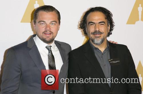 Leonardo Dicaprio and Alejandro Gonzalez Inarritu 8