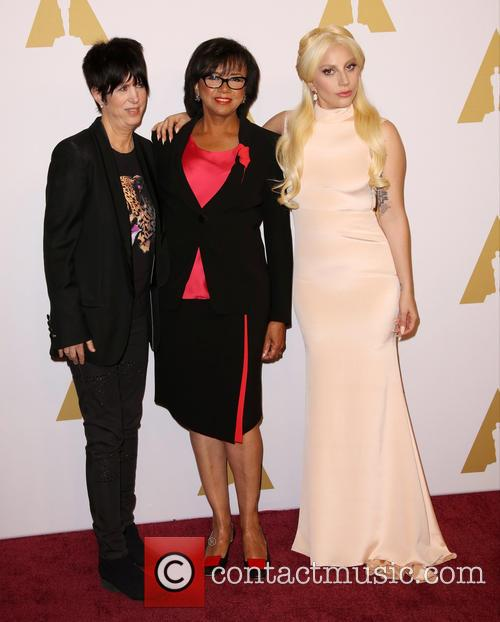 Diane Warren, Cheryl Boone Isaacs and Lady Gaga 3