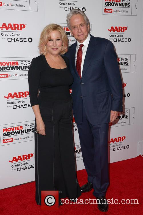 Bette Midler and Michael Douglas 4