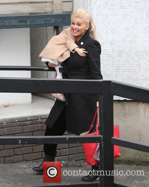 Kerry Katona and Dylan-jorge Kay 3
