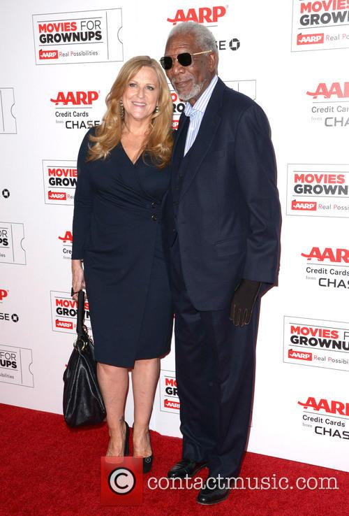 Lori Mccreary and Morgan Freeman 2