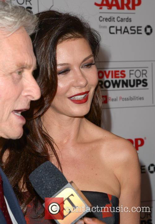 Michael Douglas and Catherine Zeta-jones 5