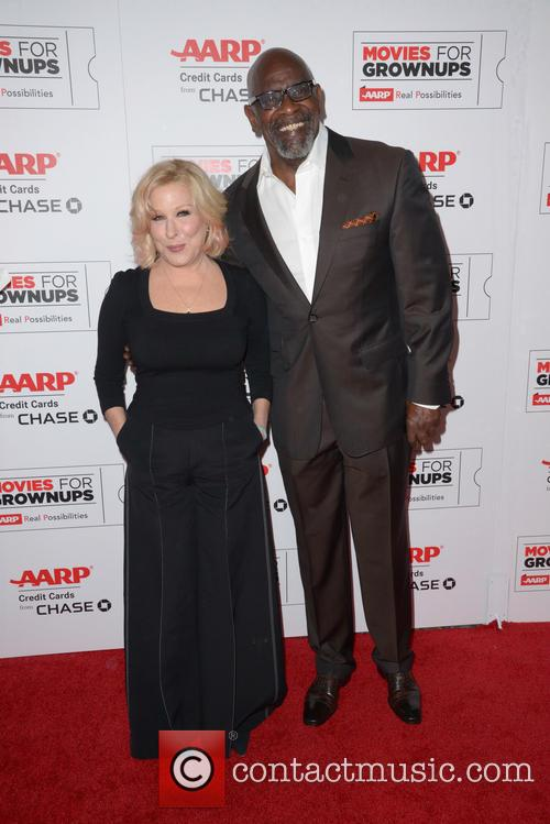 Bette Midler and Chris Gardner 6