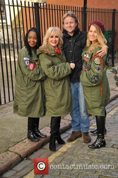Pp Arnold, Carol Harrison, Mollie Marriott and Chris Simmons. 7