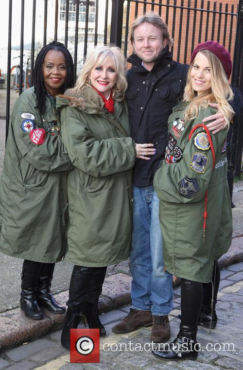 Pp Arnold, Carol Harrison, Chris Simmons and Mollie Marriott 3