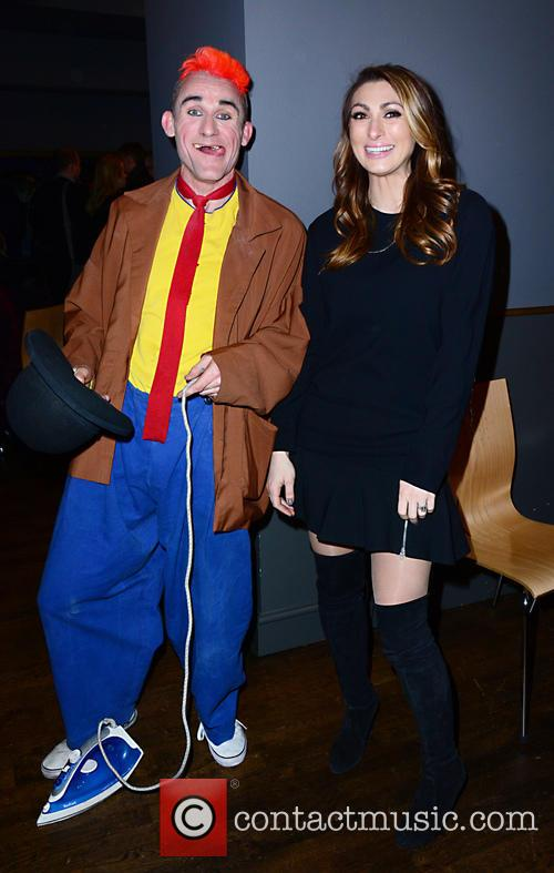 Clown (cast) and Luisa Zissman 1