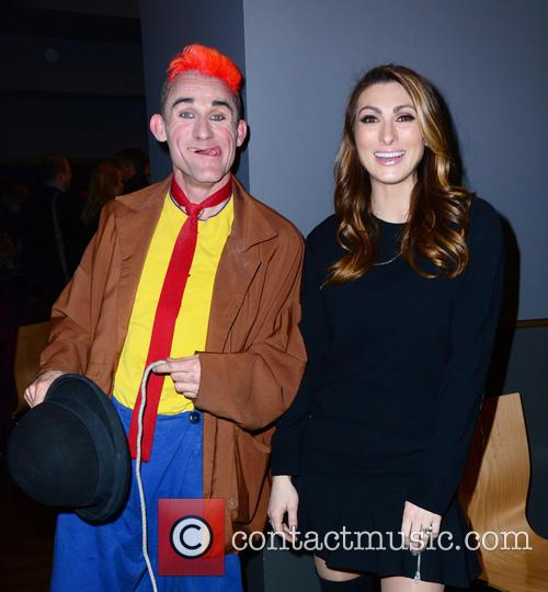 Clown (cast) and Luisa Zissman 3
