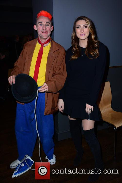 Clown (cast) and Luisa Zissman 4