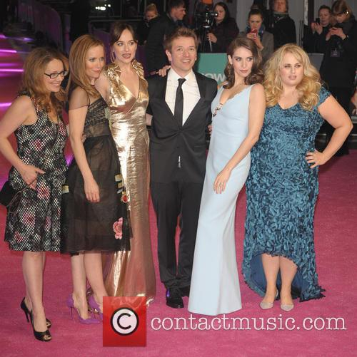 Dana Fox, Leslie Mann, Dakota Johnson, Christian Ditter, Alison Brie and Rebel Wilson