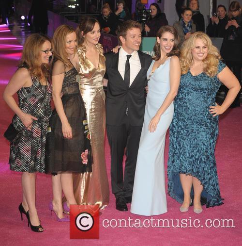 Dana Fox, Leslie Mann, Dakota Johnson, Christian Ditter, Alison Brie and Rebel Wilson 2