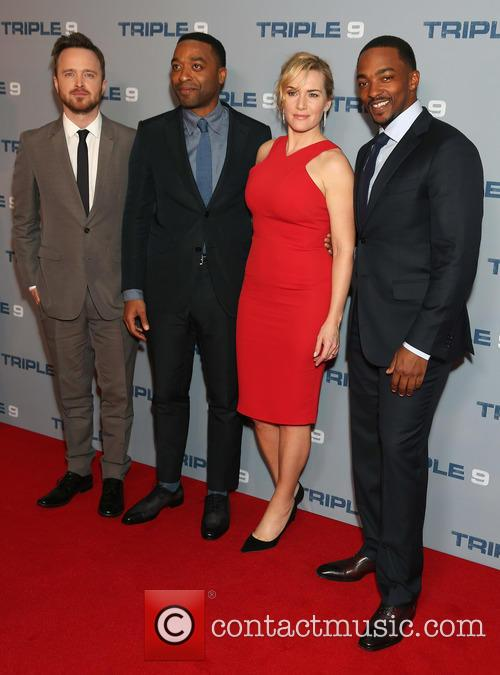 Aaron Paul, Chiwetel Ejiofor, Kate Winslet and Anthony Mackie 4