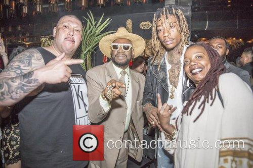 Wiz Khalifa, Bishop Don Magic Juan and Peaches Wimbush 2