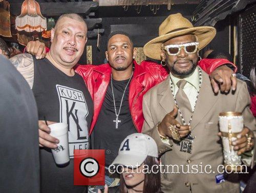 Magic Juan, Stevie J and Wiz Khalifa 2
