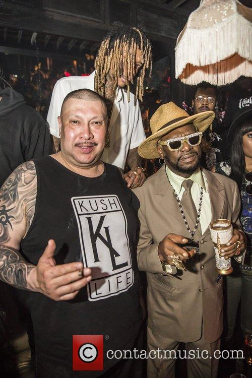 Bishop Don Magic Juan and Wiz Khalifa 5