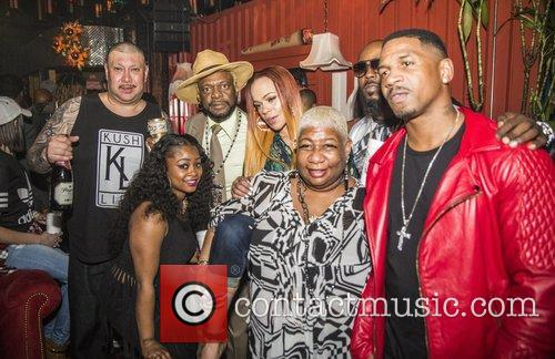 Stevie J, Faith Evans, Luenell and Bishop Don Magic Juan 1