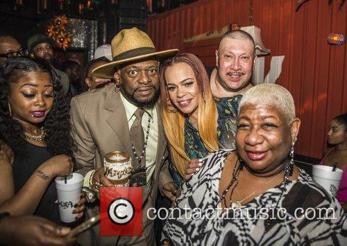 Faith Evans, Bishop Don Magic Juan and Luenell 1